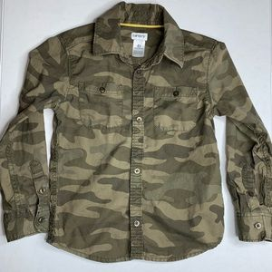 Carter's Camouflage Button Up